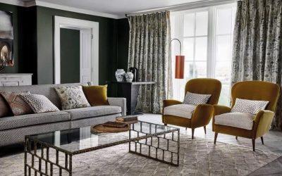 Nové dekorační látky – luxusní hedvábí a hravé lemovky
